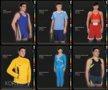 Sports uniforms custom made, tailoring sportswear